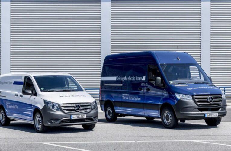 Mercedes-Benz apresenta furgões eléctricos